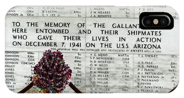 U.s.s. Arizona Memorial IPhone Case