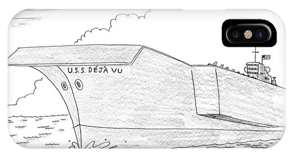U.s.s. Deja Vu IPhone Case