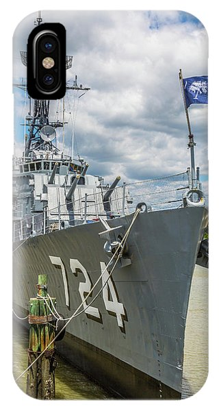Uss Laffey Dd-724 IPhone Case