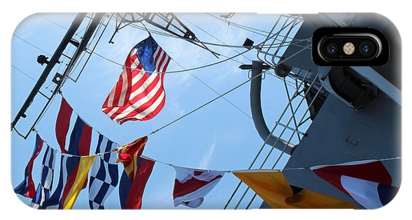 Uss Midway Flag IPhone Case