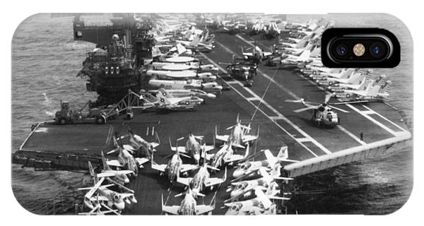 Uss Midway Leaves Sf IPhone Case