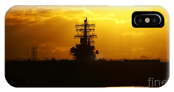 Uss Ronald Reagan IPhone Case