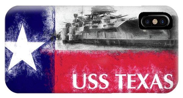 Uss Texas Flag IPhone Case