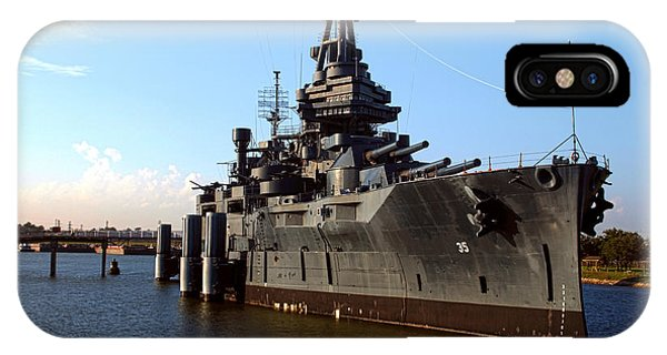 Uss Texas IPhone Case