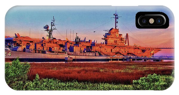 Uss York Town IPhone Case