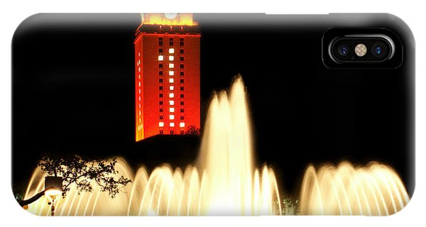 Ut Tower Championship Win IPhone Case