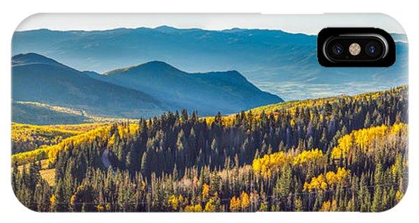 Utah Autumn Panorama IPhone Case