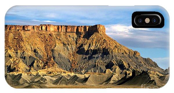 Utah Butte IPhone Case