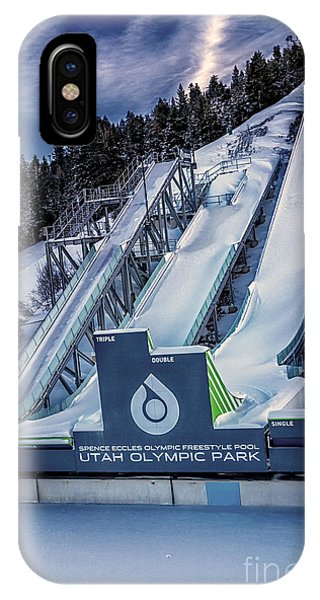IPhone Case featuring the photograph Utah Olympic Park by David Millenheft