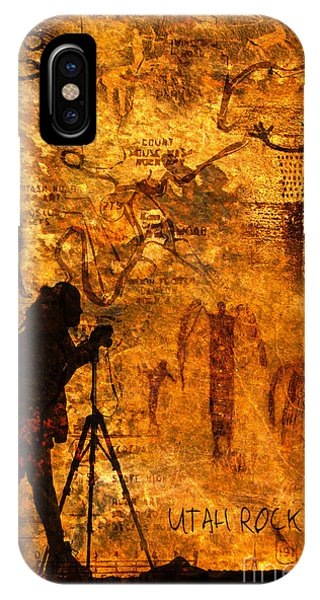 Utah Rock Art Montage IPhone Case