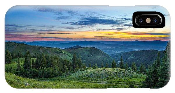 Utah Sunrise Above Park City IPhone Case