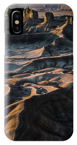 Beautiful Sunrise iPhone Case - Utah Vista by Larry Marshall