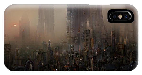 Utherworlds Cohabitations IPhone Case