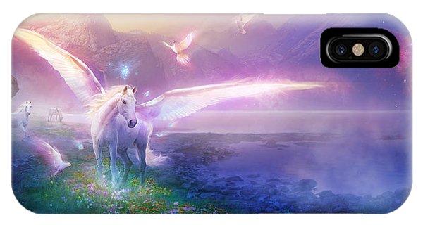 Utherworlds Winter Dawn IPhone Case