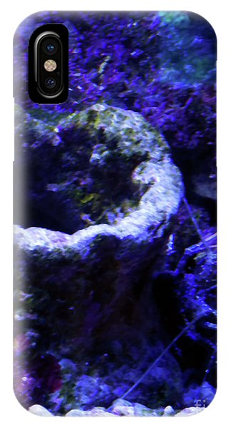 IPhone Case featuring the digital art Uw Coral Stone by Francesca Mackenney