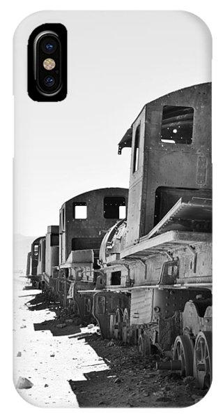 Uyuni Train Cemetery  IPhone Case