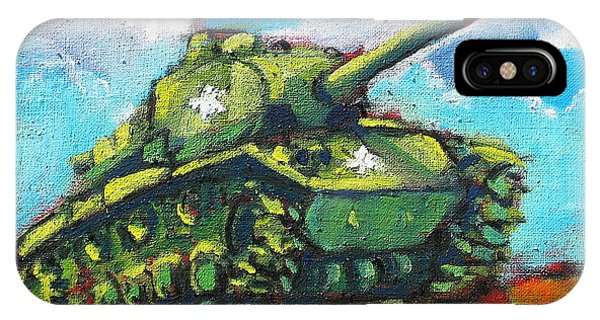 V. F. W. Tank IPhone Case