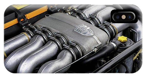 V8 Porsche IPhone Case
