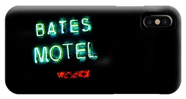 Vacancy At Bates Motel IPhone Case