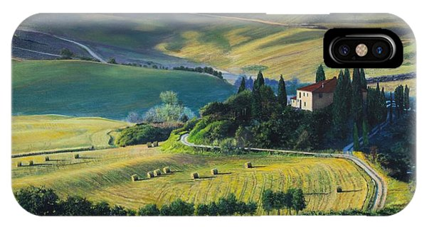 Val D'orcia IPhone Case