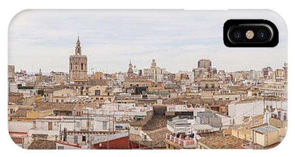 Valencia Panorama IPhone Case