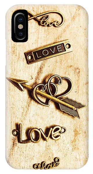 Nobody iPhone Case - Valentine Pendants by Jorgo Photography - Wall Art Gallery