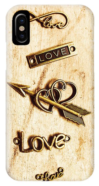 Metal iPhone Case - Valentine Pendants by Jorgo Photography - Wall Art Gallery