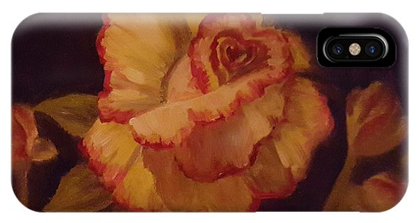 Valentine Rose 2 IPhone Case