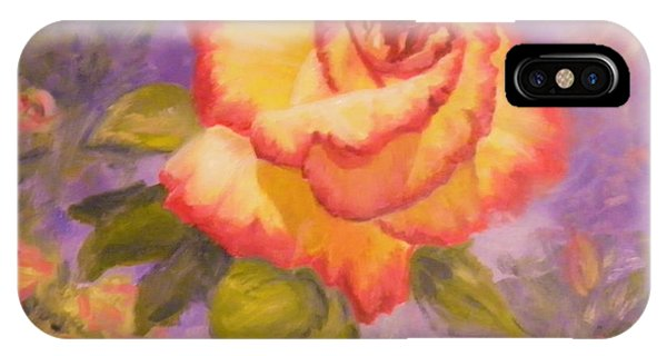 Valentine Rose IPhone Case