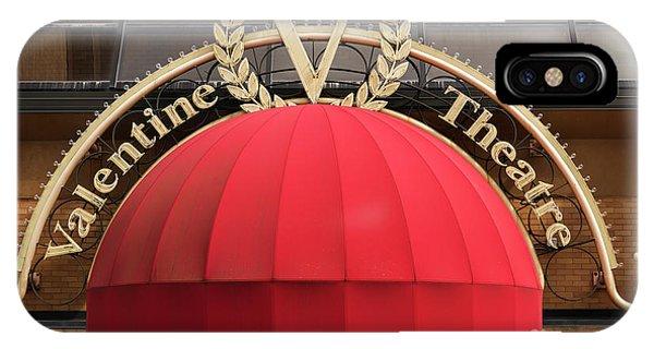 valentine theater in toledo ohio iphone case