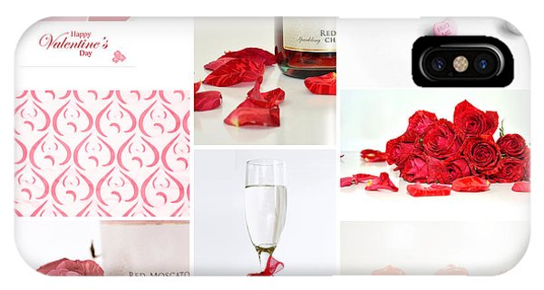 Valentine's Collage IPhone Case