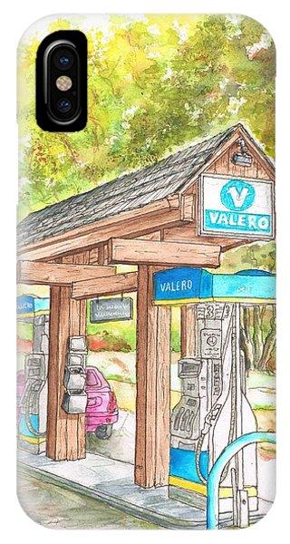 Valero Gas Station In Big Sur, California IPhone Case