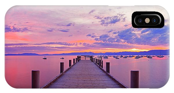 Valhalla Pier Sunrise By Brad Scott IPhone Case