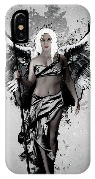 Angels iPhone Case - Valkyrja by Nicklas Gustafsson