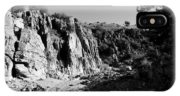 Adam Jones iPhone Case - Valles Canyon by Adam Jones