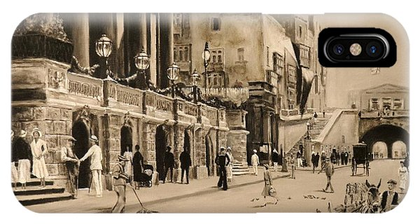 Valletta Entrance 1935 IPhone Case