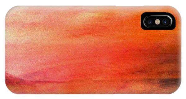 Valley At Sunset IPhone Case