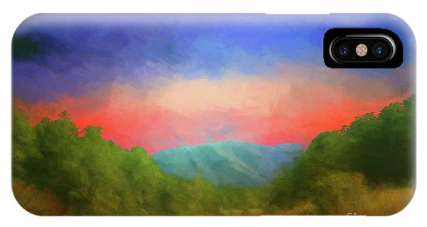 Valley In The Cove IPhone Case