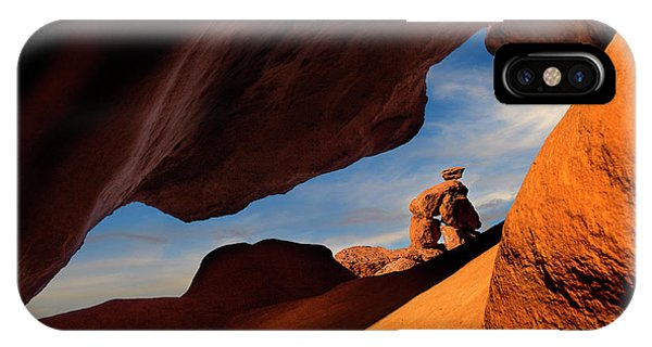 Valley Of Fire Look Through IPhone Case