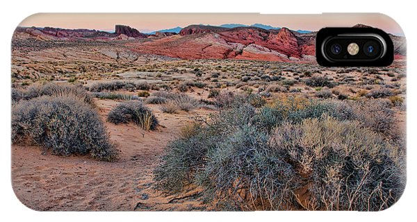Valley Of Fire Sunset IPhone Case