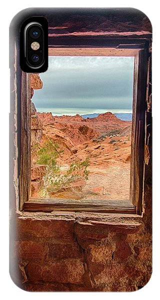 Valley Of Fire Window View IPhone Case