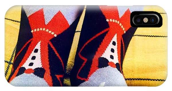 #vampire #socks #dracula #quirky IPhone Case