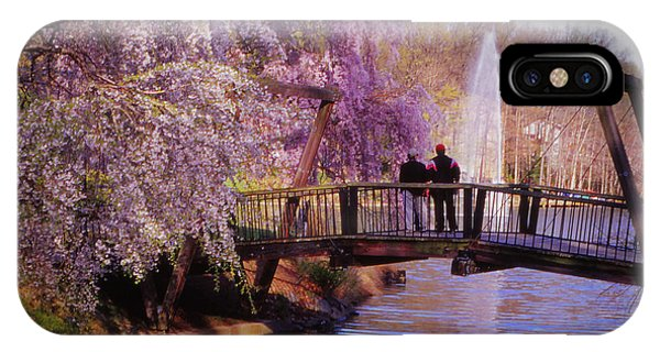 Van Gogh Bridge - Reston, Virginia IPhone Case