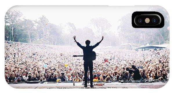 Concert iPhone Case - Vance Joy - Outside Lands by Jack Gorlin