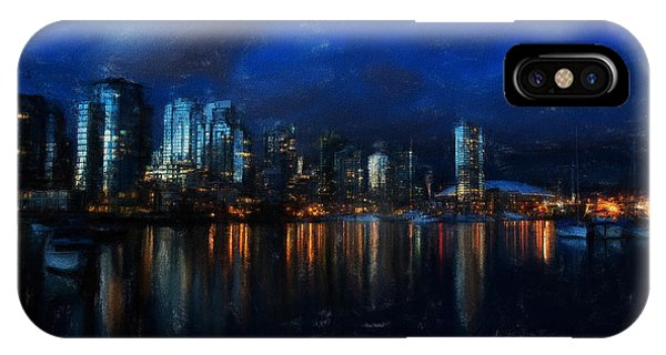 Vancouver At Dusk IPhone Case