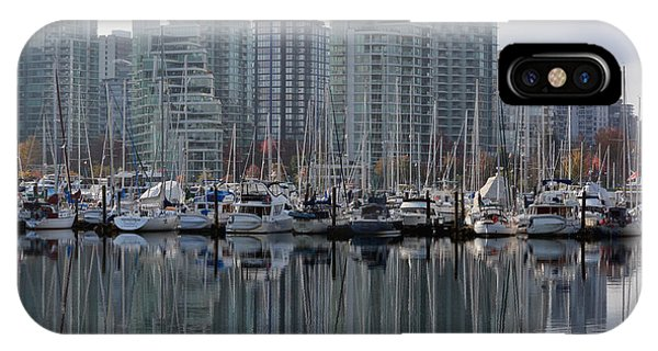 Vancouver City iPhone Case - Vancouver Bc - Boats And Condos by Richard Andrews