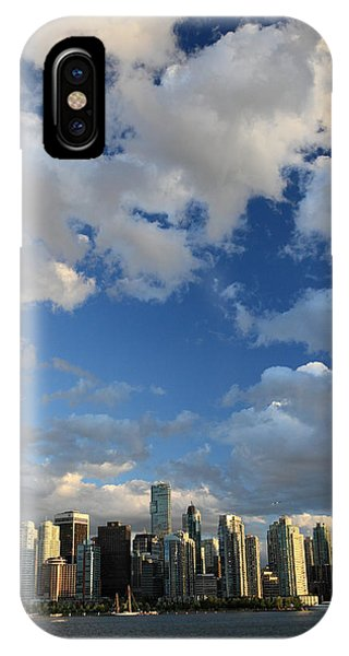 Vancouver City At Sunset Phone Case by Pierre Leclerc Photography