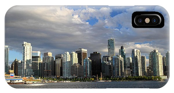 Vancouver Sunset From Stanley Park Phone Case by Pierre Leclerc Photography