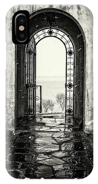 Vanderbilt Doorway In Centerport IPhone Case