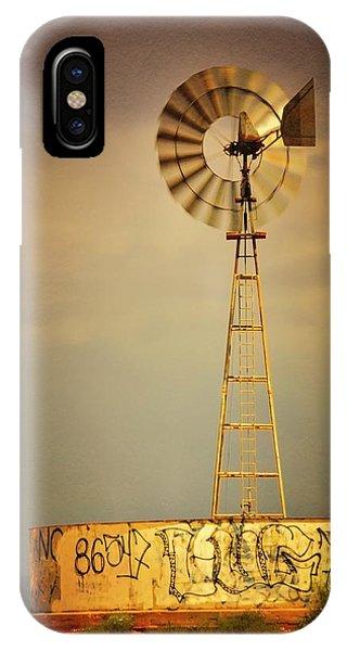 Vane In The Wind IPhone Case